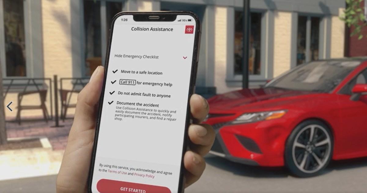 Toyota представляет мобильную службу