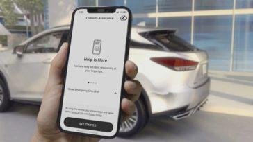 Lexus представляет мобильную службу