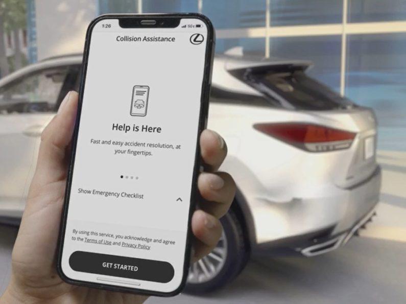 Lexus представляет мобильную службу помощи при столкновениях