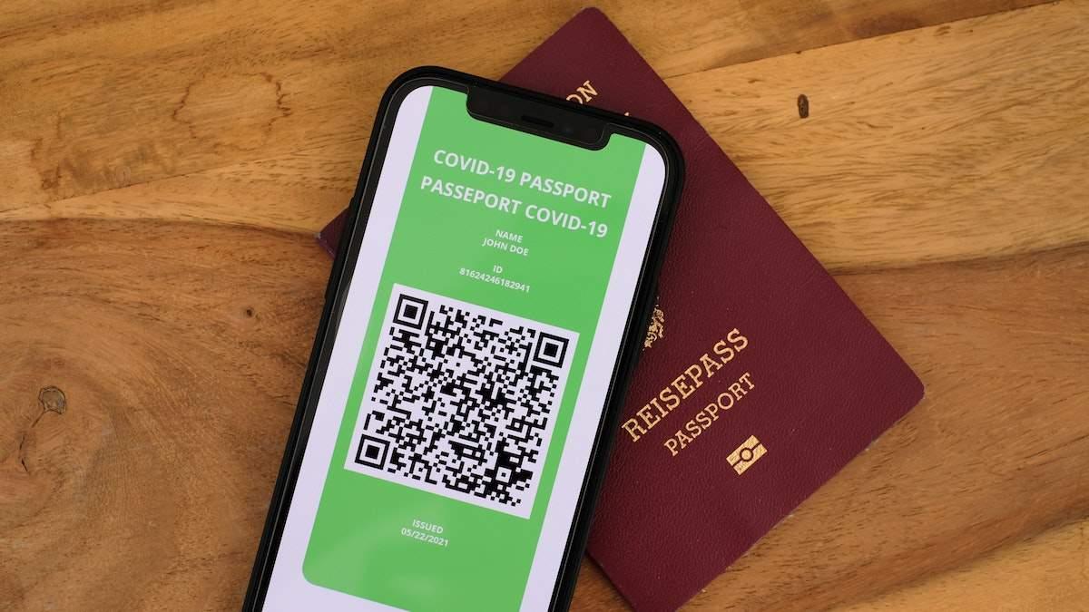 Бан на паспорта вакцинации